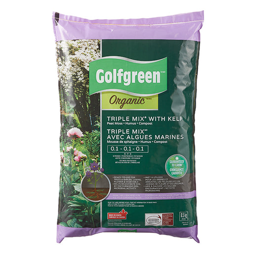 GOLFGREEN® Organic Triple Mix,    25-L