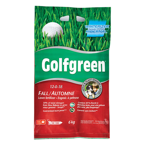 GOLFGREEN® Fall Lawn Fertilizer, 6-kg