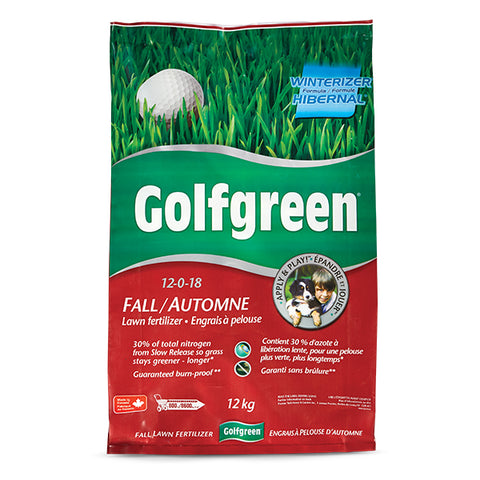 GOLFGREEN® Fall Lawn Fertilizer, 12-kg