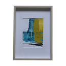 Desk Top Oil Painting (DTOP-0003). W227 x H318 x t27 mm. Birch colour frame Included.