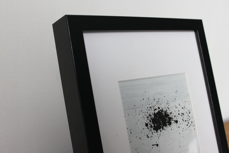 Desk Top Oil Painting (DTOP-0013). Black colour frame Included.