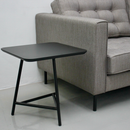 CANVAS Side Table / Bedside Table (All Black)