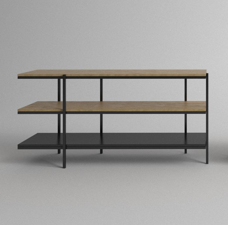 GARIS 3-Tier Low Shelving - LINEA Designer Furniture