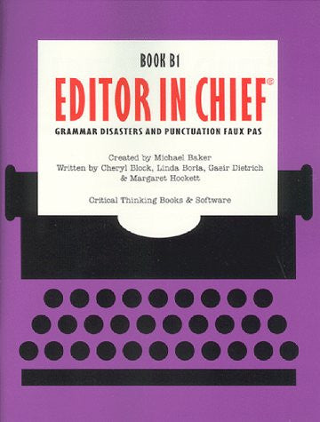 Editor in Chief B1