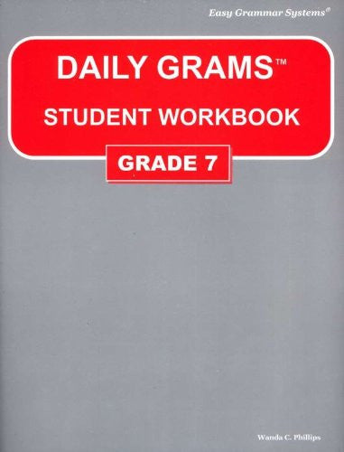 Daily Grams: Grade 7 - Student Book