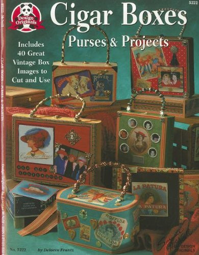 Cigar Box Purses and Projects: Includes 40 Great Vintage Box Images to Cut and Use (Design Originals)