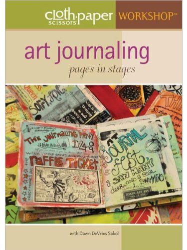 Art Journaling: Pages in Stages (DVD) (2010)
