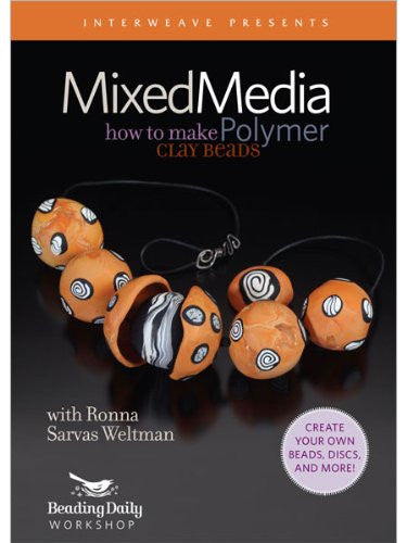 Mixed-Media How to Make Polymer Clay Beads by Ronna Sarvas Weltman