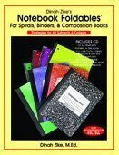Notebook Foldables Book with Complimentary CD