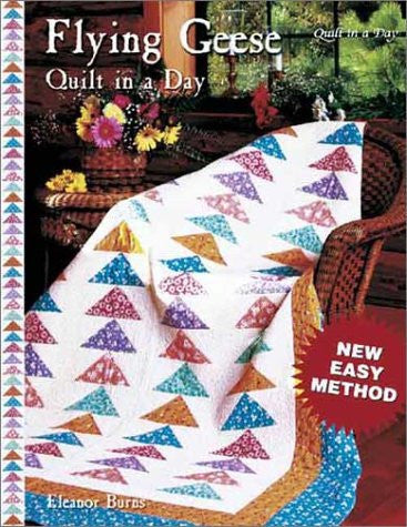 Flying Geese Quilt in a Day