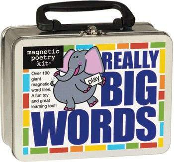 Magnetic Poetry Really Big Words Edition (104 pcs)