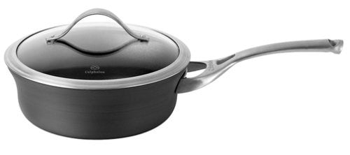 Calphalon JR8782-2P Contemporary Nonstick 2-1/2-Quart Shallow Saucepan with Lid