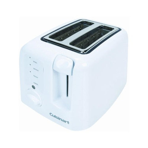 Cuisinart Compact 2-Slice Toaster (white)