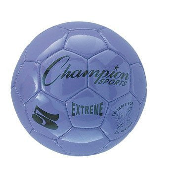 Champion Sports Extreme Series Soccer Ball Size 3 (Color: Purple Size:)