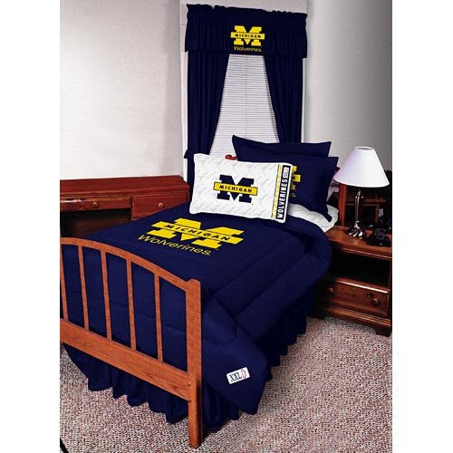 VALANCE Michigan Wolverines - Color Midnight - Size 88x14