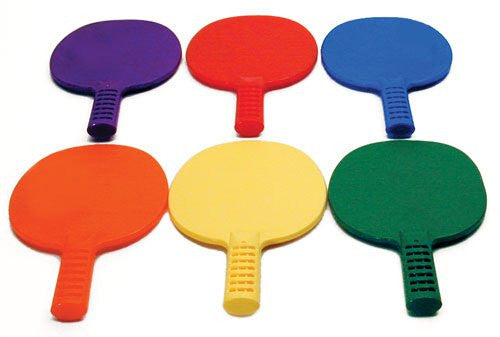 Set of Six Pick A Table Tennis Paddles Assorted Colors