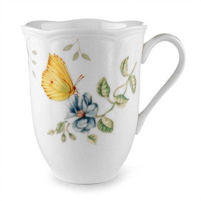 BUTTERFLY MEADOW DRAGONFLY MUG