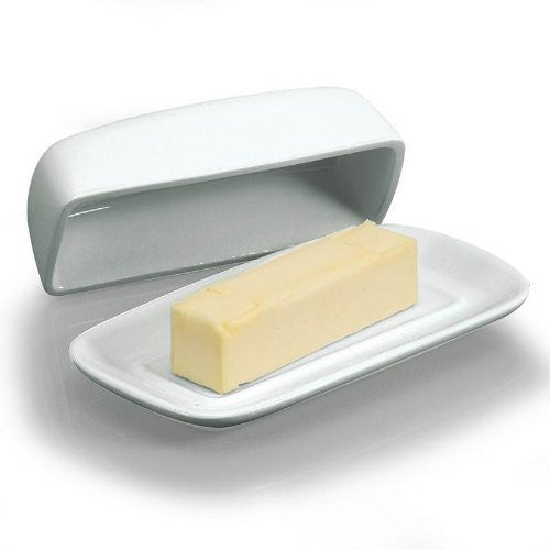 8.25-inch Covered Butter Dish