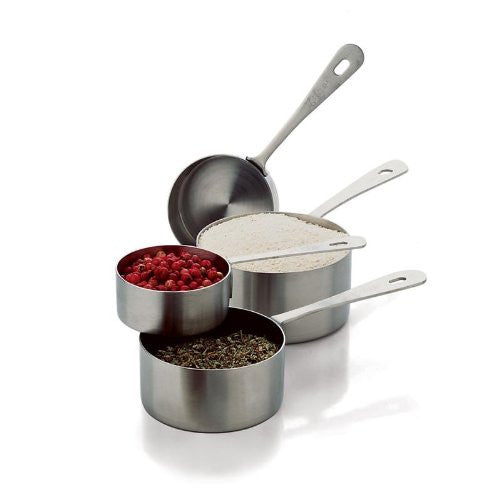 Basic Ingredients Measuring Cups 4-Pc SS