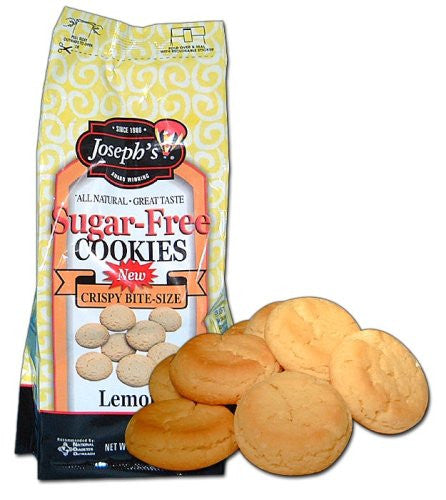 Joseph's Sugar Free Lemon Cookies, 11 oz bag