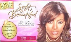 Soft+Beaut Ultimate Protection No-Lye Super Relaxer Kit