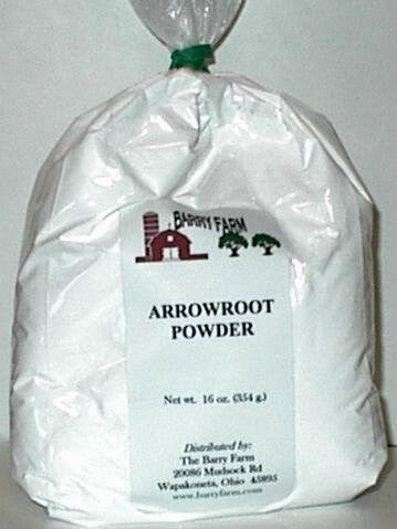 Arrowroot Powder	1 lb. bag