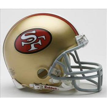 Riddell San Francisco 49ers Mini Replica Throwback Helmet
