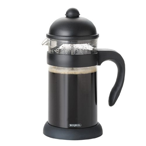 Hugo 8-Cup Unbreakable French Press, Black