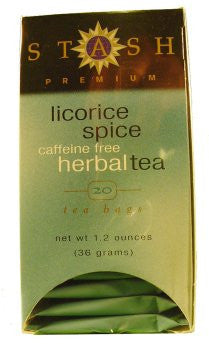Specialty Tea Licorice Spice 20 Bags (Pack of 6)
