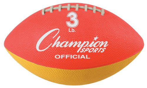 Champion Sports Official Weighted Football Trainer