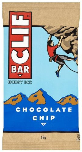 NEW CLIF BAR CHOC CHIP 2.4oz 12ct CLIF BAR - Package