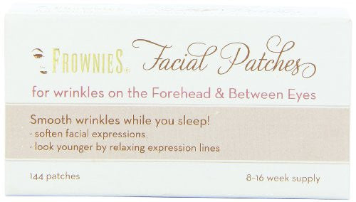 Facial Patches for Forehead & Between Eyes, 144 Pieces per Box