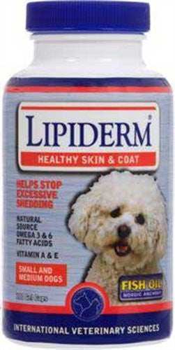 Lipiderm Gel Caps sm/md dog ‐ 180 ct