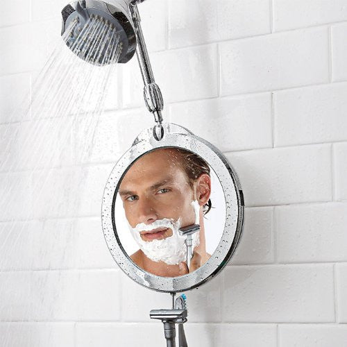 Zadro Products Z'Fogless Fog-Free 3X/1X Telescoping Shower Mirror (Color: Chrome Finish)