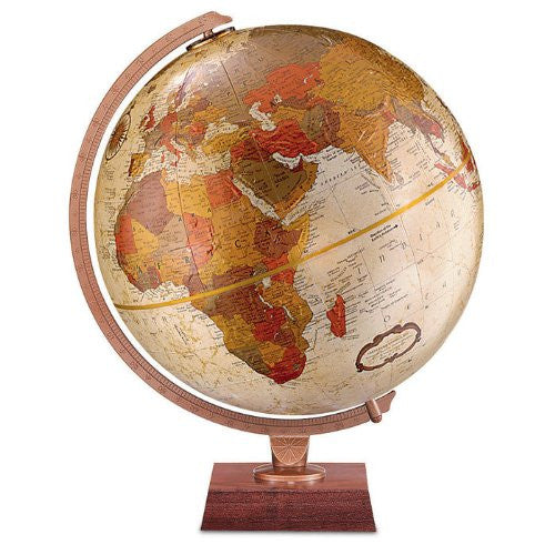 Replogle Globes Northwoods Globe, 12-Inch, Bronze Metallic