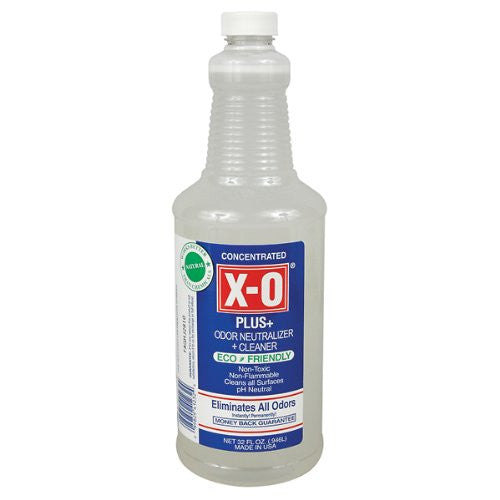 X-O Plus - Odor Neutralizer/Remover and Cleanser, 32 oz Concentrate