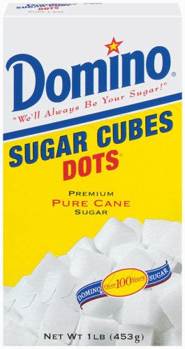 Domino Sugar Cubes Dots
