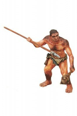 Prehistorical Man With Spear