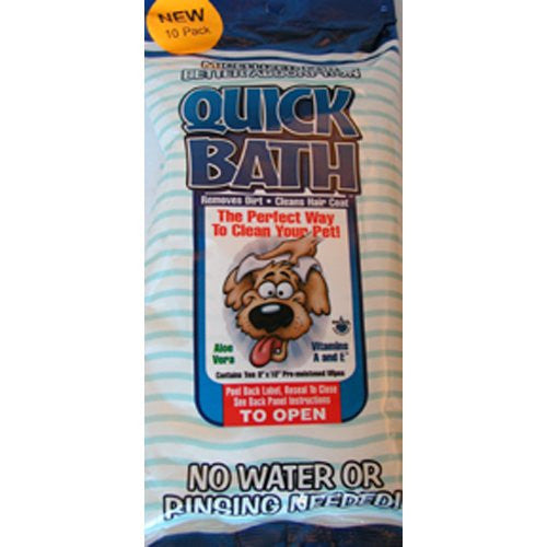 QB Large Dog Wipes ‐ 10 ct