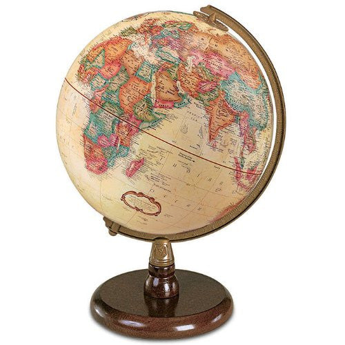 Replogle Globes Quincy Globe, Antique English, 9-Inch Diameter