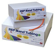 REP Band Latex-Free Resistive Exercise - Tubing - 25' - Blue (Level 4)