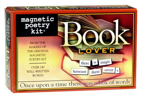 Magnetic Poetry Kit: Book Lover