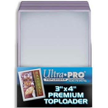 Ultra Pro 3 x 4 Premium Topload Card Holders, 25