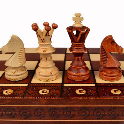 ''Ambassador'' Chess Set - 21'' x 21''