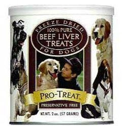Gimborn Freeze Dried Beef Liver Bag 2oz