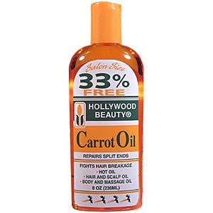 Hollywood Beauty Carrot Oil 8oz