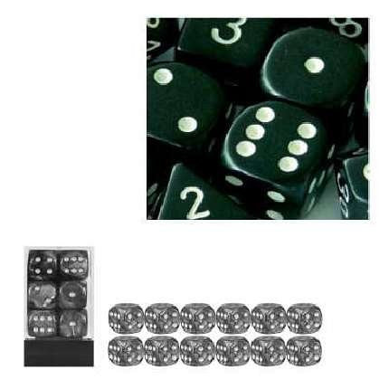 6-sided Dice: Opaque Black