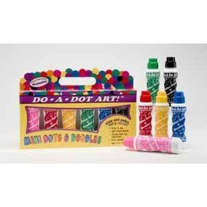 Do-A-Dot Art Mini Dots and Doodles (set of 6)