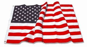 U.S. Nylon US Flag 3X5 ft- Embroidered Stars