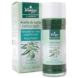 Kneipp Eucalyptus Sinus Relief Herbal Bath - 3.4 oz